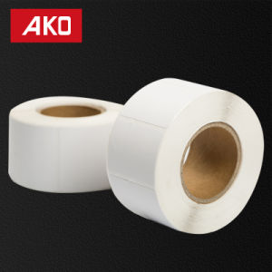 """2""""*1.5"""" (50.8mm*38mm) White Matte Labels Thermal Coated Layer Self Adhesive Sticker for Supermarket pictures & photos"""