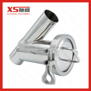 Stainless Steel Sanitary Butt-Weld Y Filter Stainer pictures & photos