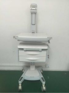 My-R186 ABS Hospital Electric Cart Medical Emergency Trolley Nursing Cabinet pictures & photos