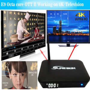4K*2K H. 265 UHD Android 6.0 Dual WiFi TV Box pictures & photos