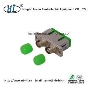 Optical Fiber Panel Duplex Sc-FC/Sm/APC Fiber Optic Adapter pictures & photos