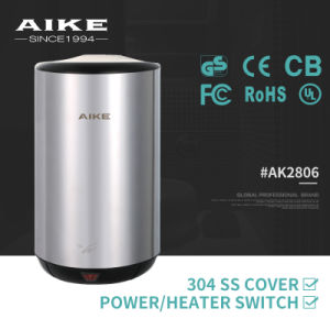 AIKE AK2806 Automatic Sensor Electric Stainless Steel Hand Dryer with CE UL GS pictures & photos