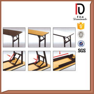 Hot Sell Durable Metal Rectangular Folding Table (BR-T082) pictures & photos