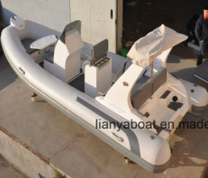 Liya Luxury 520 Rigid Inflatable Boat Rib Boat with Motor pictures & photos