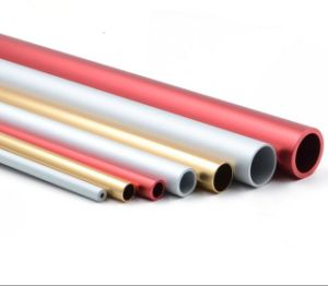 Customized Aluminum Extrusion Round Profile Tube for Furnitures pictures & photos