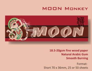 OEM Hot Sell Moon Red Monkey Cigarette Rolling Paper pictures & photos