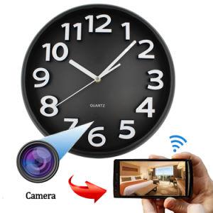 Full HD 1080P WiFi Hidden Wall Clock Camera IP Camera pictures & photos