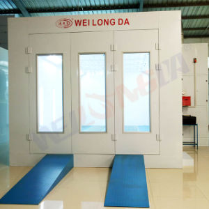 OEM Wld8200 Infrared Lamp Spray Paint Booth Russia Supplier pictures & photos