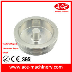 CNC Machining of Aluminum Burrette Socket Part pictures & photos