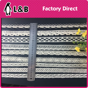 High Quality New Design 100% Cotton Lace pictures & photos