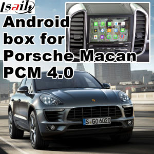 Android GPS Navigation System Video Interface for Porsche Macan 2017 or Later Upgrade Touch Navigation Mirrorlink Google Map Rear View Voice Control pictures & photos