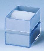 Both Sides of The Transparent Plastic Contains a Variety of Colors Within The Sponge Box pictures & photos