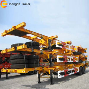 40tons Skeletal Semi Trailer, Container Semitrailer pictures & photos