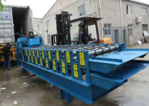 Customized Double Layer Roof Sheet and Roof Tile Roll Forming Machine pictures & photos