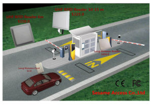 UHF RFID Reader 6-10 Meters Long Range Access Control Reader for Parking System (SR-5109) pictures & photos