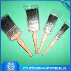Black Bristle Natural Paint Brushes pictures & photos