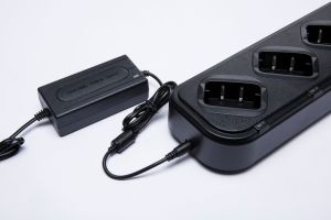 Six Bay Rapid Charger for Two Way Radio Battery pictures & photos