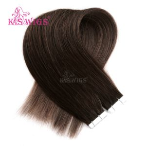 Remy Human Hair Extension Double Tape Hair Extension pictures & photos