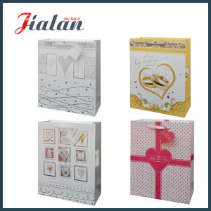 OEM Logo Printed Custom Cheap Valentine`S Day Paper Gift Bag pictures & photos