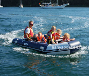 Liya 3-6.5m China Foldable Inflatable Boat with Electric Motor pictures & photos