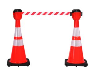 USA Standard Flexible Orange Reflective PVC Traffic Soft Safety Cones pictures & photos