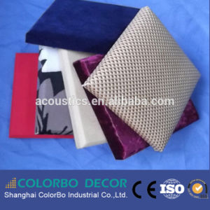 Factory Price Cubicle Insulation Cloth Fabric Acoustic Wall Panel pictures & photos