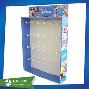 Retail Light Item Cardboard Hooks Display, Cardboard Sidekick Display, Cardboard Hanging Stand pictures & photos