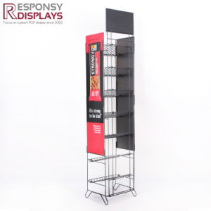 Metal Snack Display Rack with Appointed Color pictures & photos