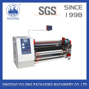 Single Shaft Automatic BOPP Tape/Masking Tape/Double Sided Tape Cutting Machine pictures & photos