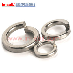 DIN127b 2~24 Thread Nominal Flat Washers, Spring Washers 316 Ss, Lock Washers pictures & photos