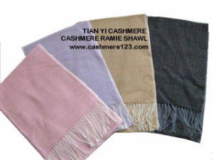 Cashmere Ramie Shawl, 4 Seasons Use pictures & photos