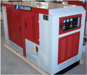 Large Fuel Tank Sound-Proof Cabinet Diesel Gense Wz STD ctrl Panel &/or ATS & AMF (10-200Kw)