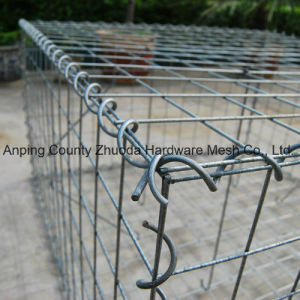 China Wholesale Mesh 75X75mm Welded Type DIY Gabion Basket pictures & photos