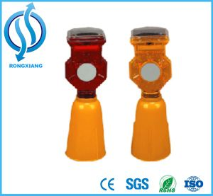 Solar LED Warning Lights for Traffic Cone pictures & photos