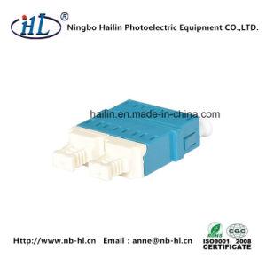 LC/PC Duplex Fiber Optic Adapter with White Big Dust Cap pictures & photos