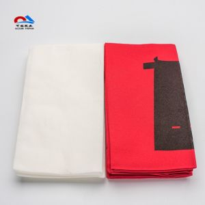 How Colorful Folded Paper Napkin for Christmas pictures & photos