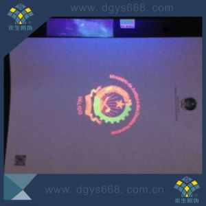 Embossing Hologram Foil Watermark Security Ticket with Security Features pictures & photos