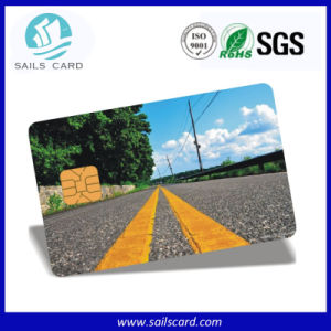 Printing Sle5528 Proximity RFID Contact Membership Card pictures & photos