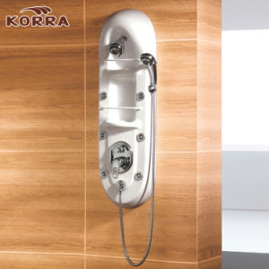 White Color Acrylic Shower Panel pictures & photos
