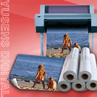 Quality Audited 115GSM-250GSM 44inch High Glossy Inkjet Photo Paper Rolls (CWG-R) pictures & photos