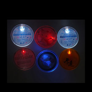 Custom Christmas LED Flash Badges pictures & photos