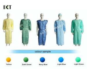 Against Blood Breathable Fabric Disposable Medical Scrubs Dustproof pictures & photos