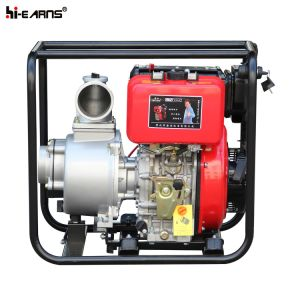 4 Inch Diesel Water Pump Set Red Color (DP40E) pictures & photos