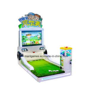 Mini Golf Game Machine Coin Operated Machine for Kids in Shopping Mall pictures & photos