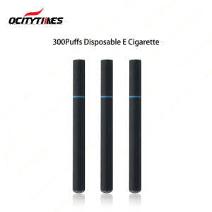 300puffs Buttonless Vaporizer Pen/Disposable Electronic Cigarette pictures & photos