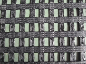 80/30kn Warp-Knitting PVC Coated Polyester Geogrid pictures & photos