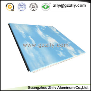 2018 Fashionable Polymeric Aluminum Metal Ceiling for Decoration-Blue Sky & White Cloud pictures & photos