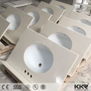 Artificial Marble Stone Resin Countertops for Kitchen pictures & photos