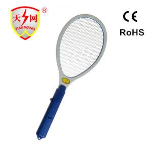 High Quality Safety Electronic Mosquito Flyswatter with Clearing Brush (TW-03) pictures & photos