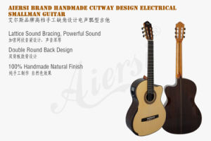 Electric Lattice Sound Bracing Smallman Classical Guitar pictures & photos